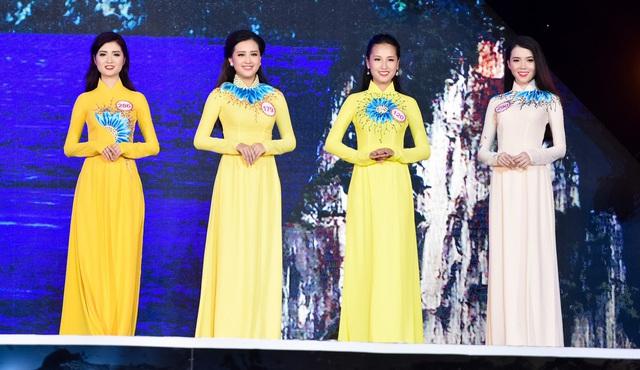 Những chiếc áo dài ấn tượng trong cuộc thi Hoa hậu Việt Nam 2016 - Ảnh 5.