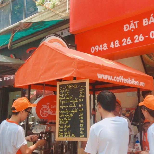 Vietnam Coffee bike trở thành chuỗi cafe đầu tiên ra mắt ứng dụng mua hàng trực tuyến - Ảnh 2.