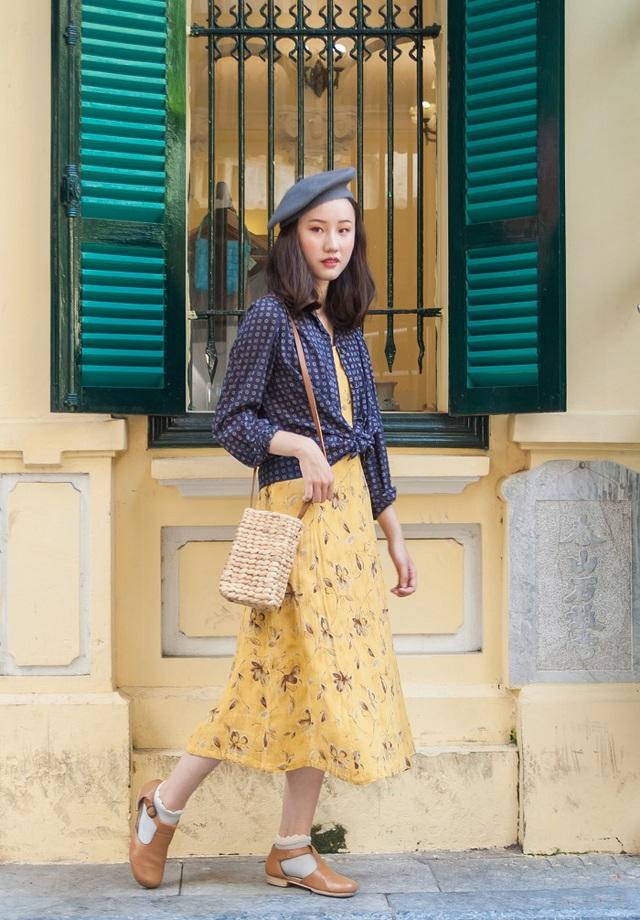 Kết quả hình ảnh cho thời trang retro của sao Việt