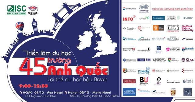 Triển lãm du học 45 trường Anh Quốc eduFairUK – Lợi thế du học Anh hậu Brexit - Ảnh 1.
