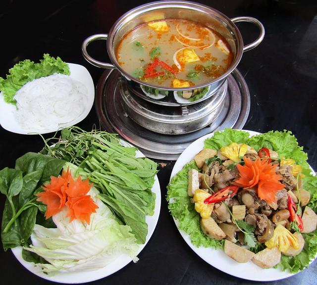 Bò nhúng dấm chuẩn vị Đà Nẵng tại Hà Nội - Ảnh 4.