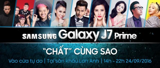 Selfie cùng Đông Nhi, nhận ngay quà tặng Samsung J7 Prime - Ảnh 1.