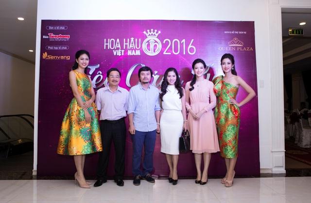 Hoa hậu Đỗ Mỹ Linh đẹp rạng ngời tham dự đêm tiệc tại Queen Plaza - Ảnh 9.