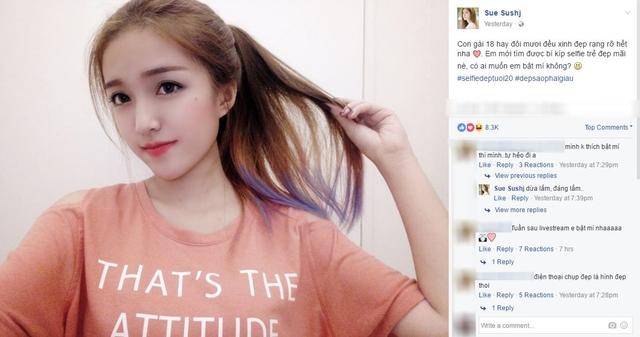 Sau cover nhạc Trịnh, Thánh nữ bolero khiến fan xiêu lòng với ảnh selfie đẹp tuổi 20 - Ảnh 4.