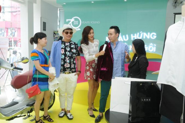 """Fashionista Việt """"bung"""" hết chất ngẫu hứng tại buổi giao lưu với stylist Pông Chuẩn - Ảnh 5."""