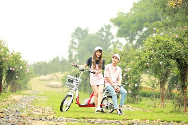"""Ngắm xe đạp điện """"tuyệt đỉnh sắc màu"""" được giới trẻ miền Nam yêu thích - Ảnh 3."""