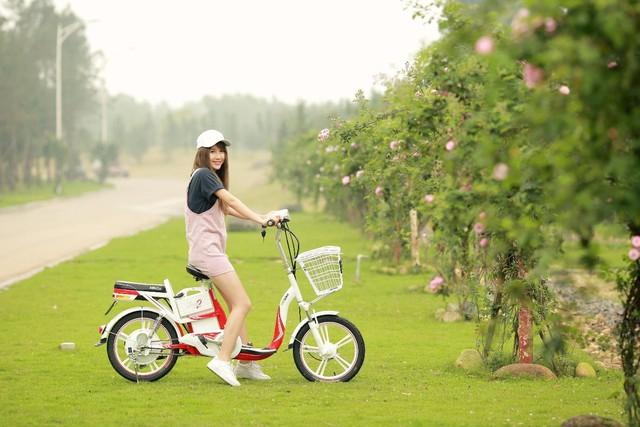 """Ngắm xe đạp điện """"tuyệt đỉnh sắc màu"""" được giới trẻ miền Nam yêu thích - Ảnh 5."""