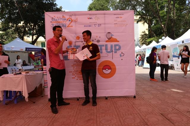 Sinh viên Kinh tế Quốc dân tưng bừng trong ngày hội khởi nghiệp - Ảnh 3.