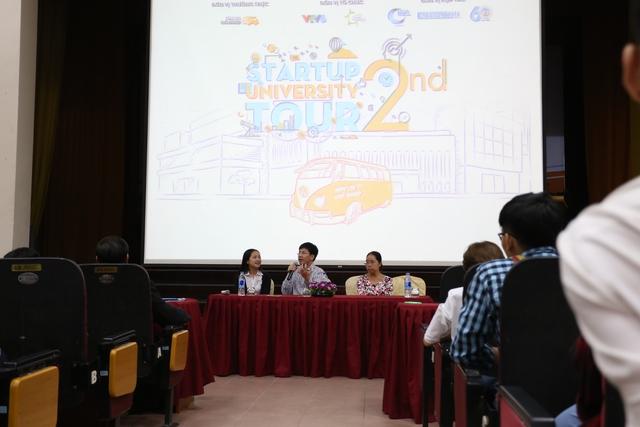 Sinh viên Kinh tế Quốc dân tưng bừng trong ngày hội khởi nghiệp - Ảnh 6.
