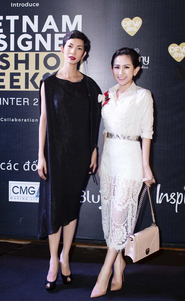 Fashionista Trâm Nguyễn chọn toàn thiết kế Việt vẫn nổi bần bật tại Vietnam Designer Fashion Week - Ảnh 3.