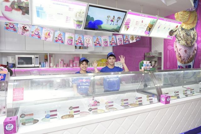 Tưng bừng mừng sinh nhật 5 năm Baskin Robbins với viên kem chỉ 15.000 đồng - Ảnh 2.