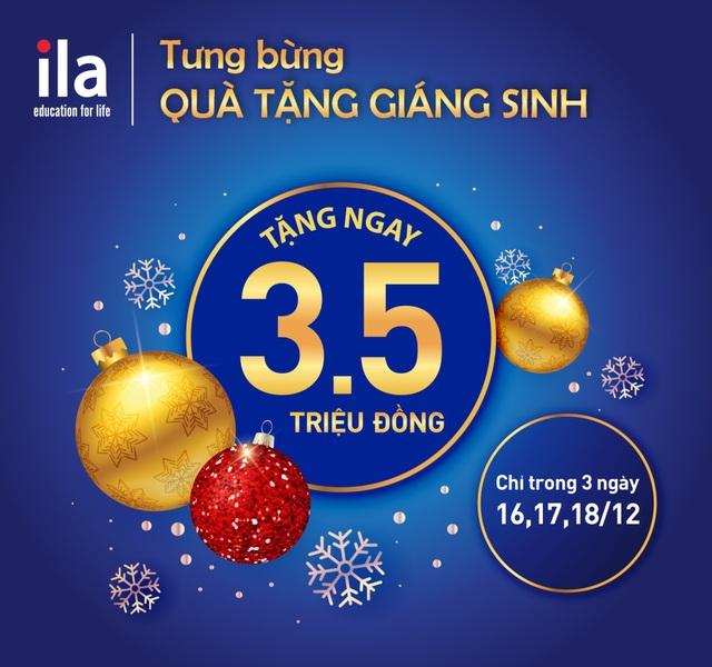 Tưng bừng học bổng mừng Giáng sinh, chỉ 3 ngày trong tháng 12 - Ảnh 1.