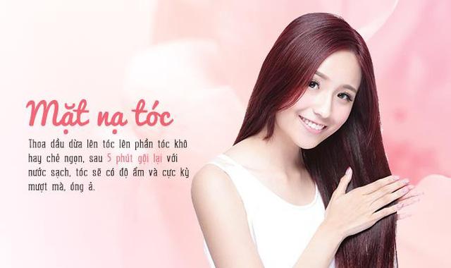 Bắt nhịp xu hướng làm đẹp từ dầu dừa của beauty blogger Việt - Ảnh 3.