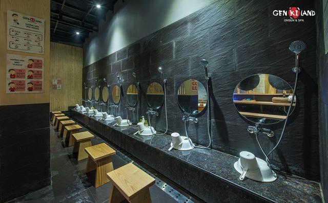 """Trải nghiệm """"tắm tập thể"""" theo phong cách Nhật Bản ngay tại Hà Nội - Ảnh 2."""