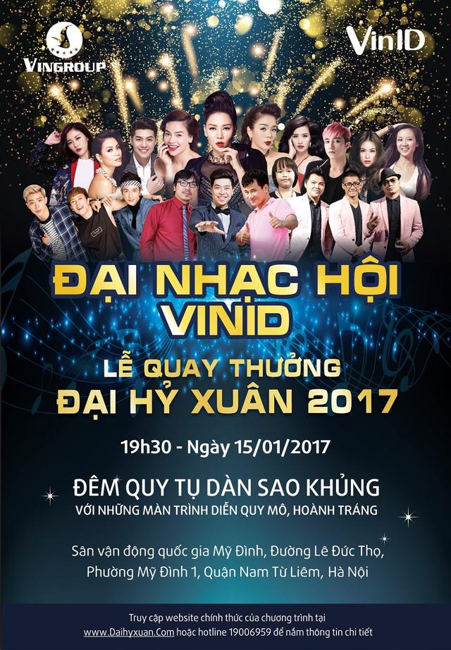 """Giám khảo The Voice 2017: Chưa đối đầu ghế nóng đã """"ganh đua"""" tại Đại nhạc hội đón xuân - Ảnh 4."""
