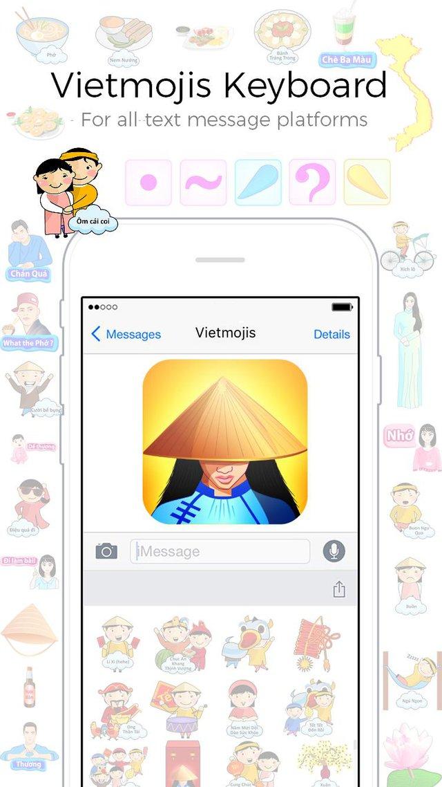 """Sticker tiếng Việt siêu ngộ nghĩnh: Trào lưu hot """"càn quét"""" thế giới ảo - Ảnh 5."""