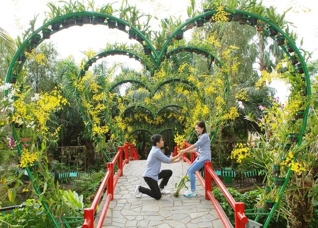Lãng mạn và vui nhộn với ngày hội Giải mã tình yêu tại Đầm Sen - Ảnh 1.
