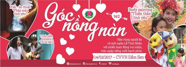 Lãng mạn và vui nhộn với ngày hội Giải mã tình yêu tại Đầm Sen - Ảnh 2.