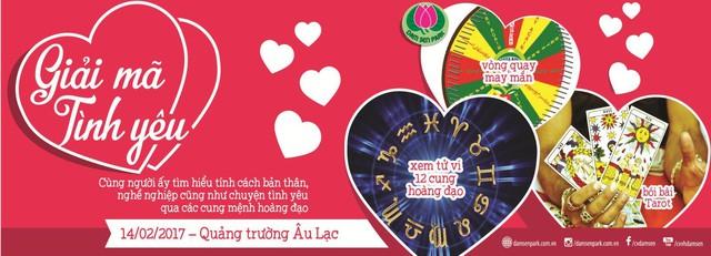 Lãng mạn và vui nhộn với ngày hội Giải mã tình yêu tại Đầm Sen - Ảnh 6.