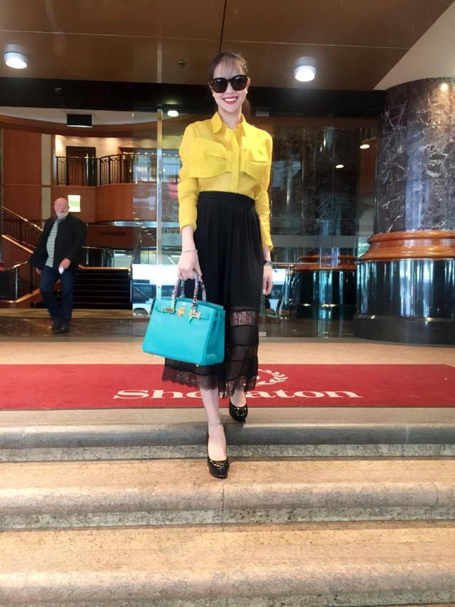 Hoa hậu Sella Trương - Thánh shopping điên cuồng của Showbiz - Ảnh 8.
