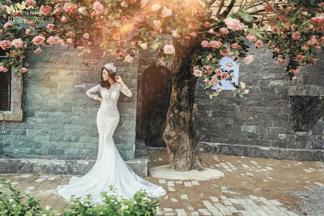 Top 5 mẫu váy cưới hot trend 2017 các cô dâu không nên bỏ lỡ - Ảnh 6.