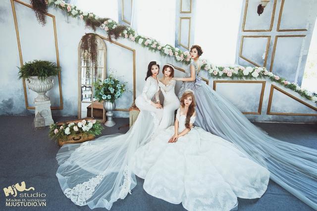 Top 5 mẫu váy cưới hot trend 2017 các cô dâu không nên bỏ lỡ - Ảnh 7.