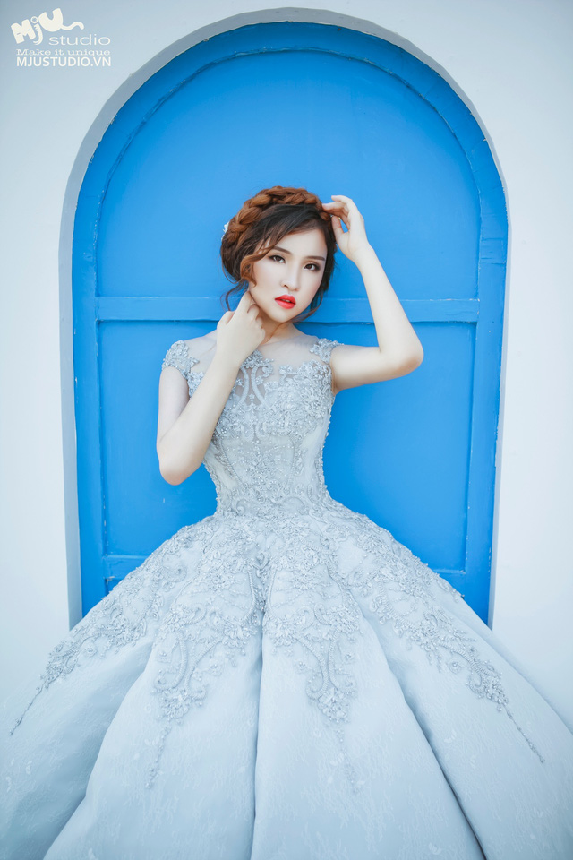 Top 5 mẫu váy cưới hot trend 2017 các cô dâu không nên bỏ lỡ - Ảnh 8.