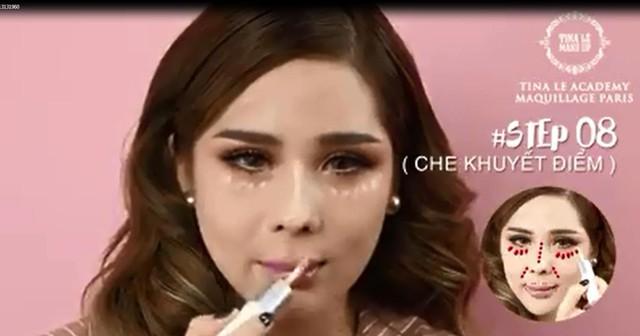 Chuyên gia trang điểm Tina Lê hướng dẫn make up với 12 bước cơ bản - Ảnh 6.