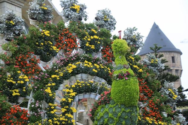 Đến Bà Nà Hills ngắm hơn 100 loài hoa đua nở - Ảnh 7.