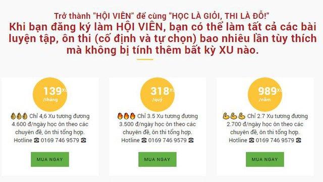 Website hữu ích để luyện thi trắc nghiệm tiếng Anh THPT - Ảnh 5.