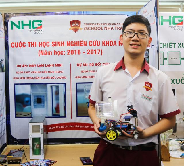 Học sinh Việt và những sáng chế cực ấn tượng - Ảnh 5.