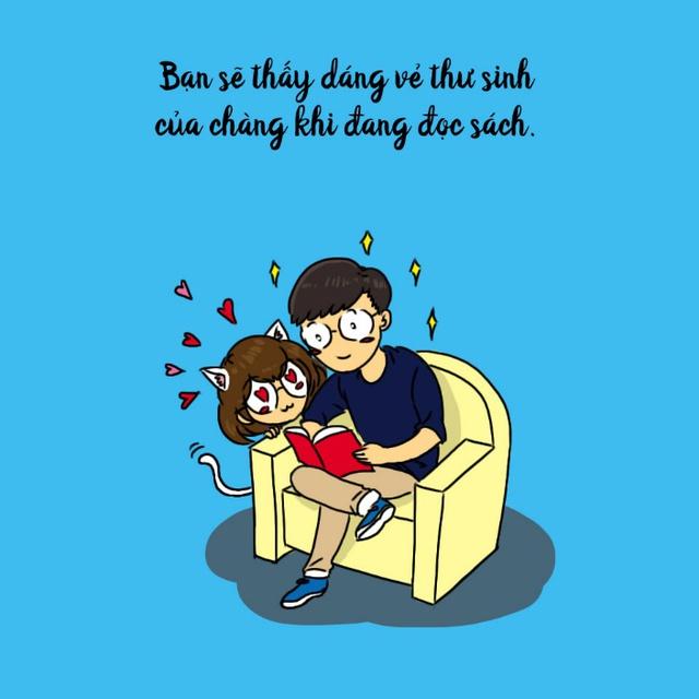 Hãy yêu một anh chàng thích đọc sách - Ảnh 1.