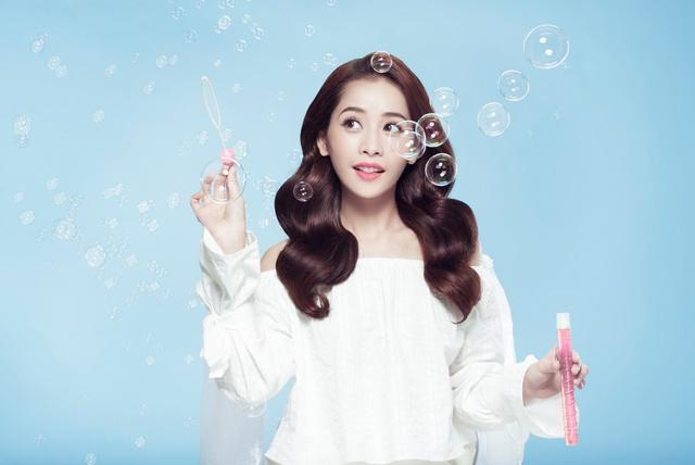 Chi Pu tiết lộ bí quyết sống nhẹ tênh với mái tóc bồng bềnh - Ảnh 3.