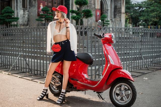 """Nàng stylist 9X """"định nghĩa lại nét ngẫu hứng trong thời trang - Ảnh 1."""