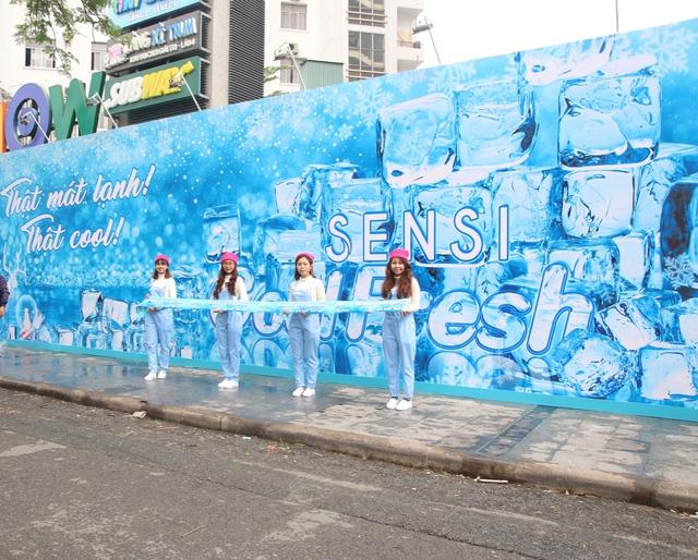 Trào lưu check-in mùa đông -5 độ giữa lòng Sài Gòn - Ảnh 1.