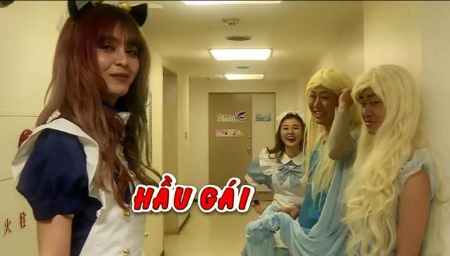 Mlee khiến Ribi Sachi chảy nước mắt khi ăn mì cay tại Nhật Bản - Ảnh 2.