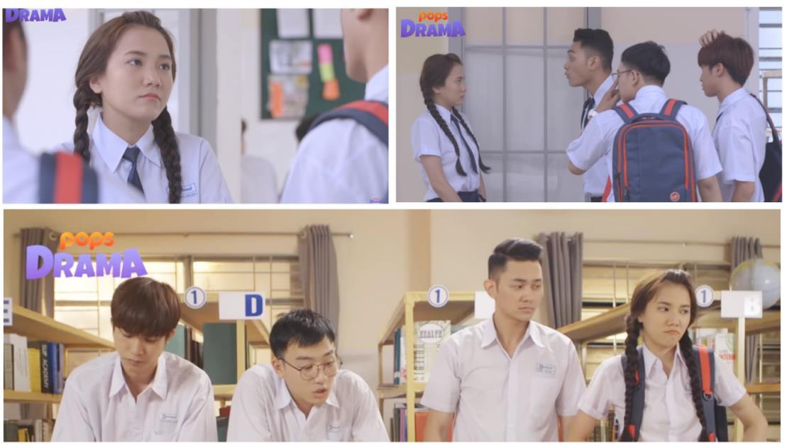 """Điểm danh 5 nhân vật đong đầy kí ức của tuổi học trò trong web-drama """"Cô gái đến từ bên kia"""" - Ảnh 2."""