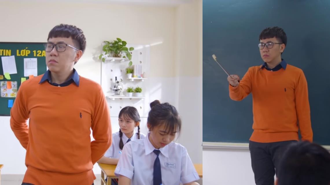 """Điểm danh 5 nhân vật đong đầy kí ức của tuổi học trò trong web-drama """"Cô gái đến từ bên kia"""" - Ảnh 3."""