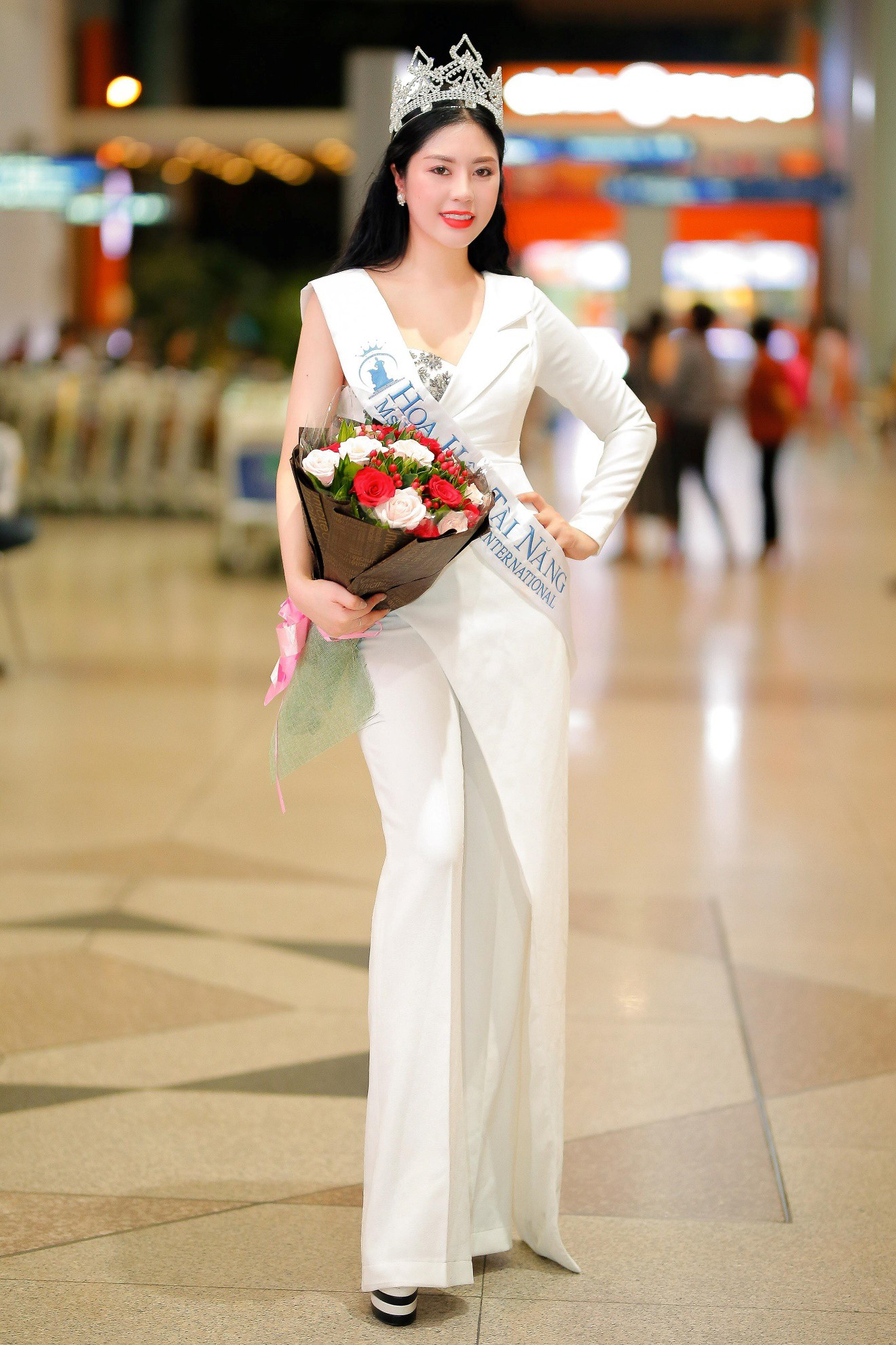 """Tô Diệp Hà đoạt giải """"Hoa hậu tài năng"""" tại Ms Vietnam Beauty International Pageant 2018 - Ảnh 1."""