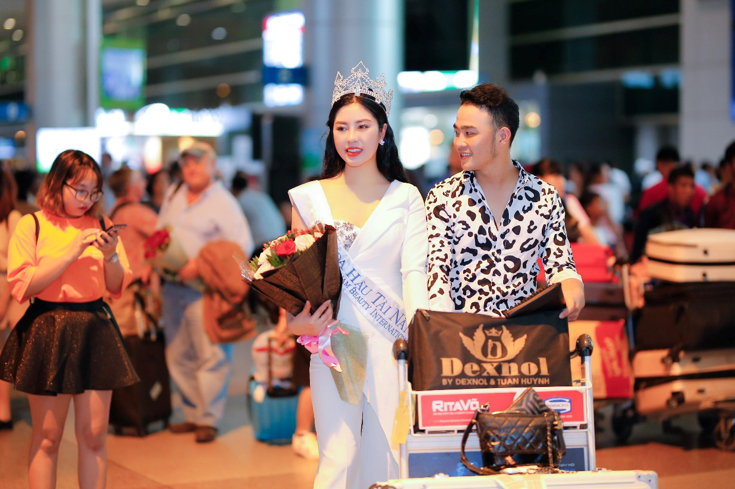 """Tô Diệp Hà đoạt giải """"Hoa hậu tài năng"""" tại Ms Vietnam Beauty International Pageant 2018 - Ảnh 4."""