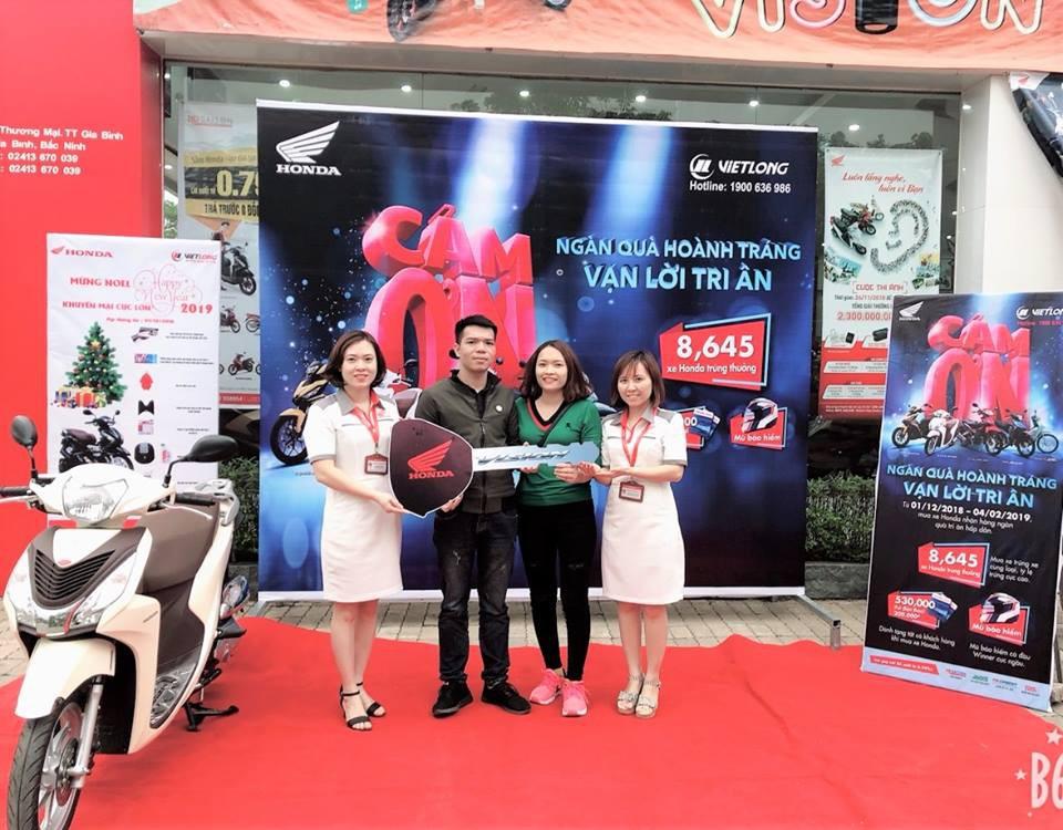 Có gì hay từ chương trình ưu đãi xe máy lớn nhất năm của Honda Việt Nam? - Ảnh 3.
