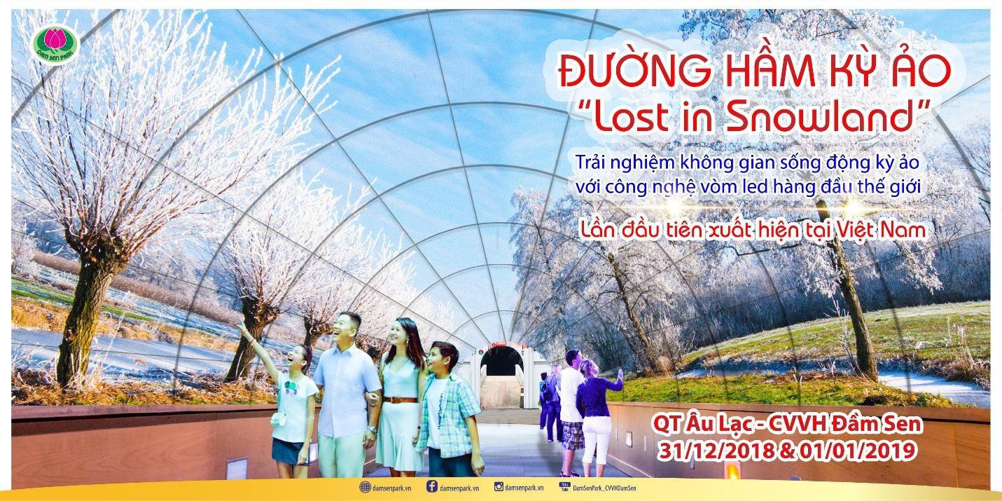 """""""Chạm đỉnh"""" 2018 tại Đầm Sen với những sự kiện lần đầu tiên xuất hiện ở Việt Nam - Ảnh 1."""