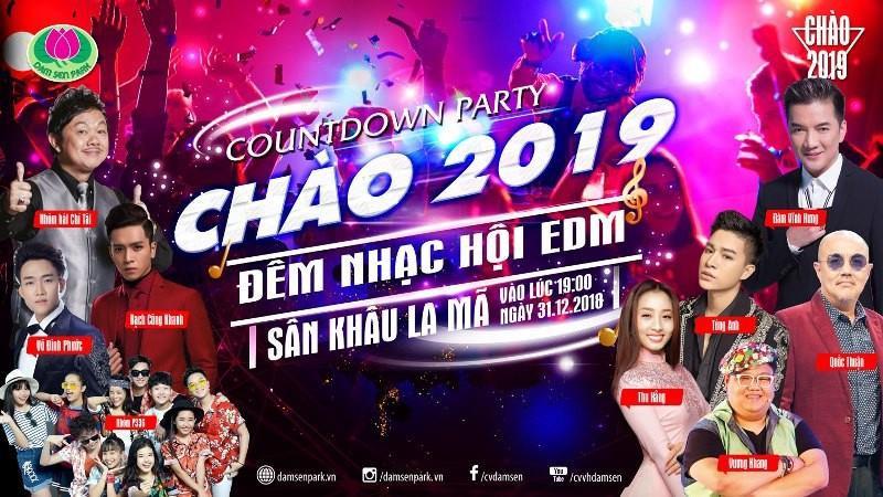 """""""Chạm đỉnh"""" 2018 tại Đầm Sen với những sự kiện lần đầu tiên xuất hiện ở Việt Nam - Ảnh 2."""