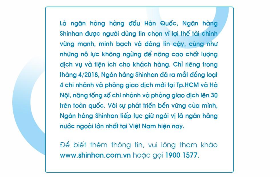 """Tổng Giám đốc Shinhan Việt Nam – ông Shin Dong Min: """"Mục tiêu lớn cần nỗ lực lớn"""" - Ảnh 10."""