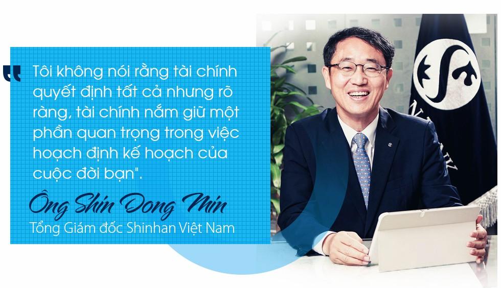 """Tổng Giám đốc Shinhan Việt Nam – ông Shin Dong Min: """"Mục tiêu lớn cần nỗ lực lớn"""" - Ảnh 8."""