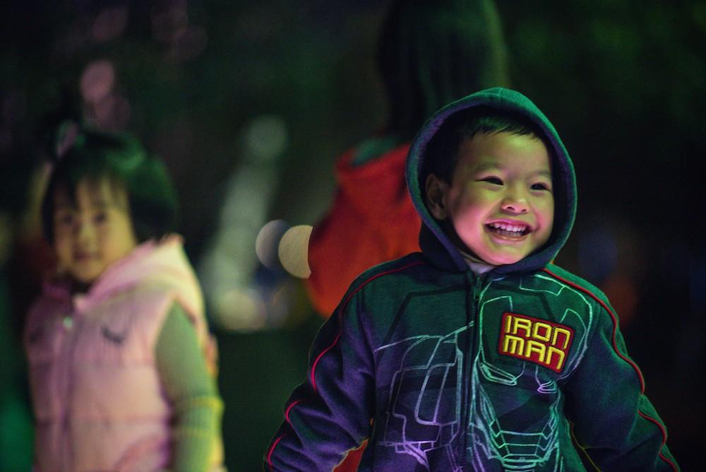 Cư dân Ecopark mãn nhãn với màn pháo hoa đón năm mới - Ảnh 8.