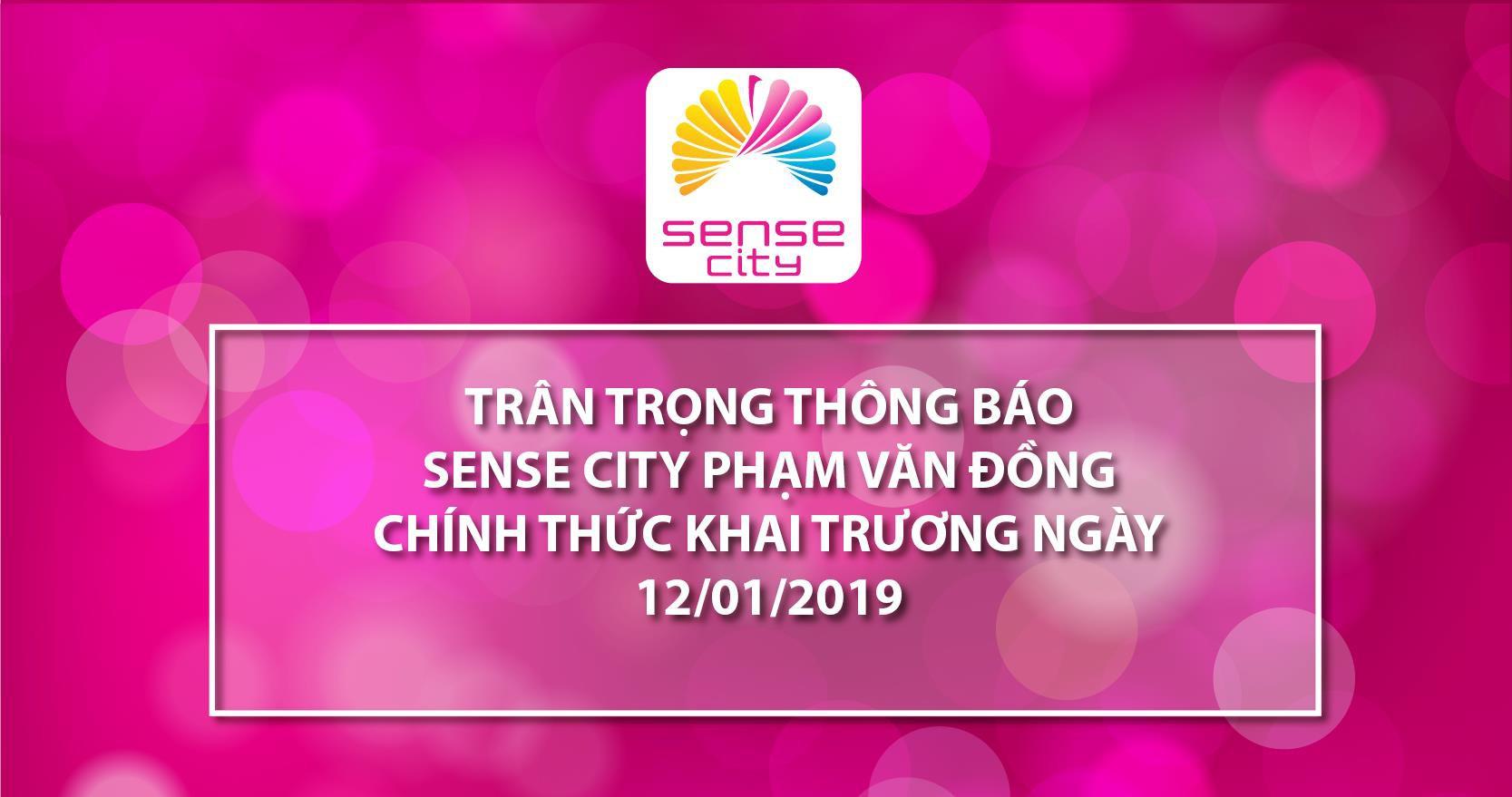 Hàng hiệu giảm giá sẵn chờ khách chọn mua ở Sense City Phạm Văn Đồng - Ảnh 1.