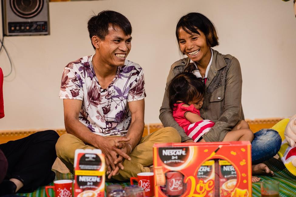 Ước mong làm chủ rẫy cà phê của anh thợ hồ Quảng Ngãi thành hiện thực với món lộc xuân 1.5 tỷ đồng - Ảnh 3.