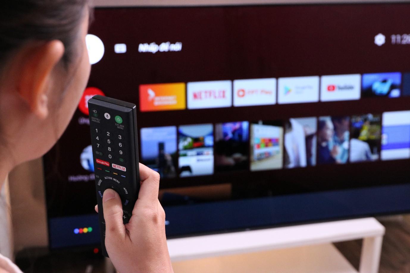 Cả thế giới giải trí bỗng chốc thu bé lại trong chiếc Sony Android TV - Ảnh 3.
