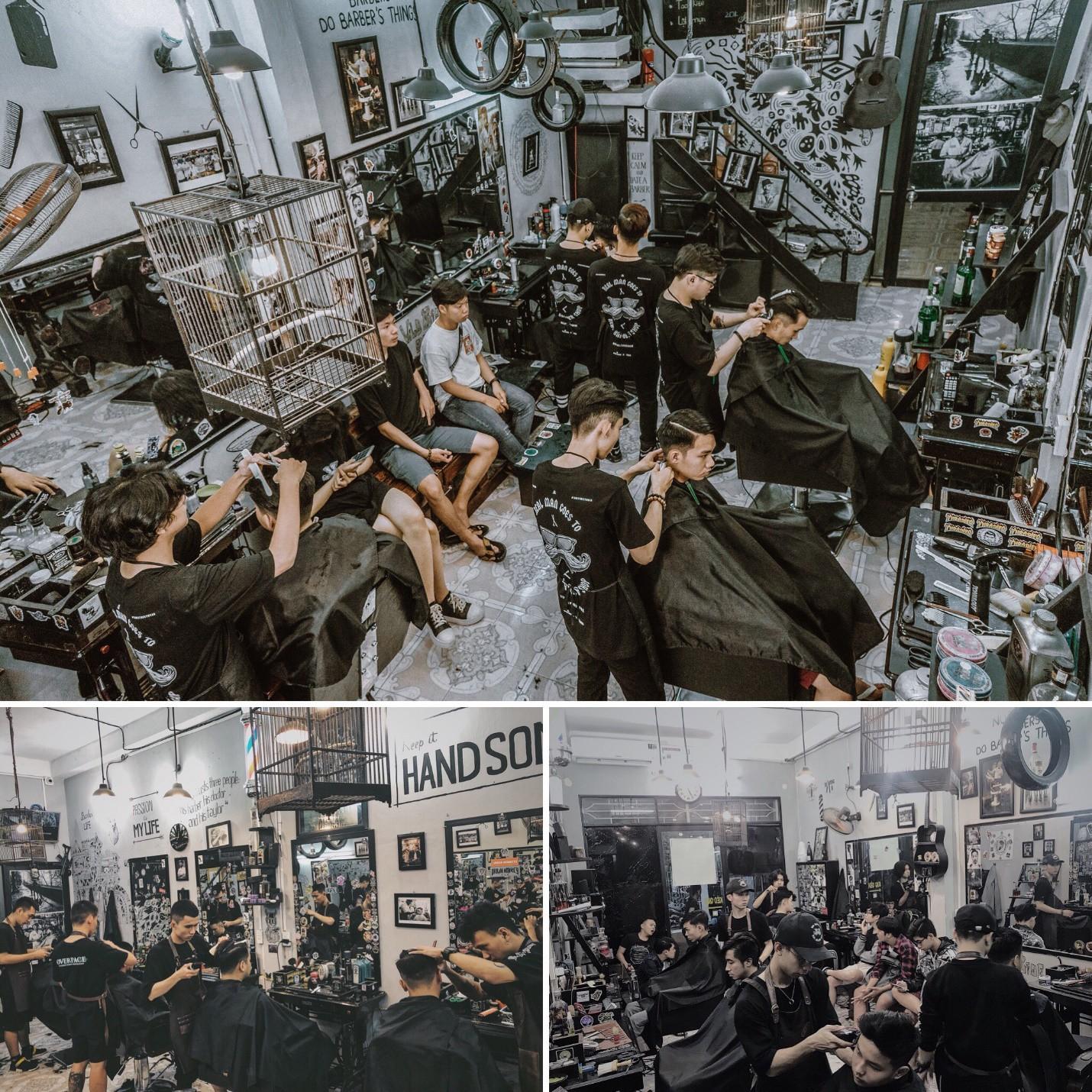 """Ky Lee Barber shop – Tiệm cắt tóc """"cực chất"""" dành cho các quý ông - Ảnh 5."""